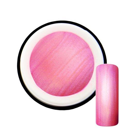 Rose Fluo avec effet de Pearl # 6 Gel UV Vernis 5 ml – Fabriqué en Allemagne