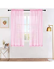 Lofus Sheer Curtain for Living Room, Dining Room, Bedroom