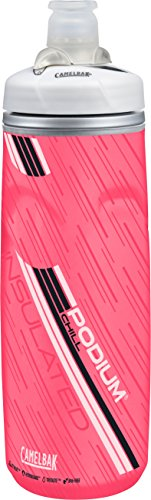 CAMELBAK Podium Chill 21 oz Insulated Botella, Unisex Adulto, Azul/Rosa (Power Pink), Talla Única