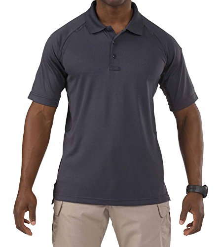 5.11 Tactical Series Performance Polo Homme, Charcoal, FR (Taille Fabricant : XL)