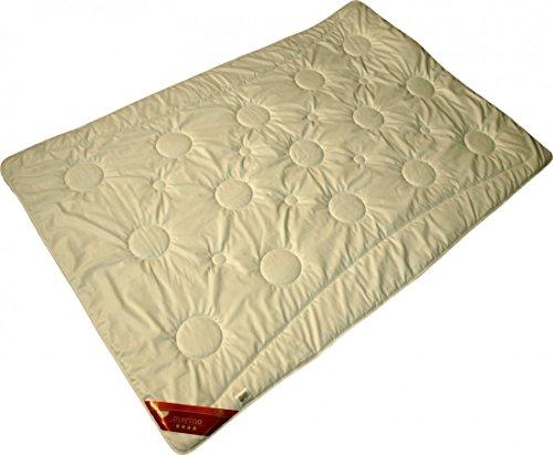 Bettdecke Merino Schafwolle 135x200cm extra leicht