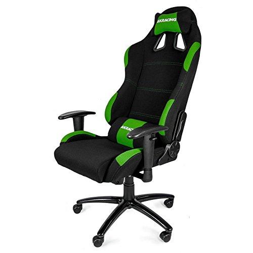AKRacing K7012 - AK-7012-BG - Silla Gaming, Color Negro/Verde