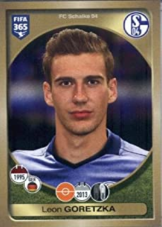2016-17 Panini FIFA 365 #332 Leon Goretzka FC Schalke 04 Soccer Sticker