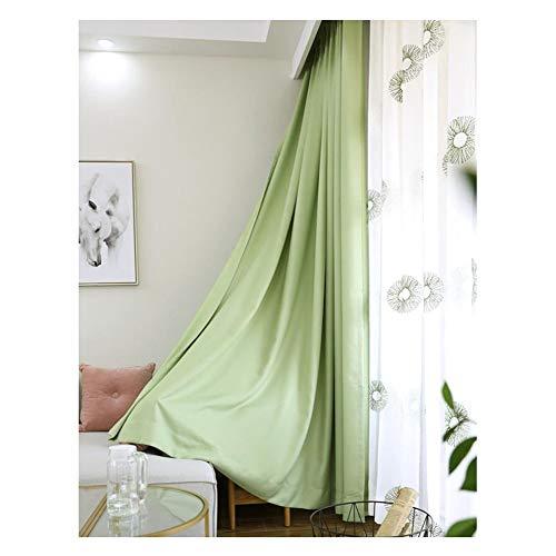 cortinas de cocina verde