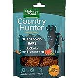 NATURES MENU Country Hunter Dog Snack Superfood Bars Ente mit Karotten und Kürbiskernen 100g (Menge: 7 je Bestelleinheit)