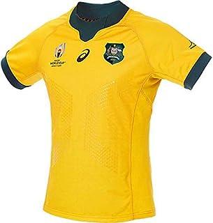 RWC2019 アシックス オーストラリア 代表 ワラビーズ ラグビー ワールド カップ 2019 ホーム ジャージ L サイズ KC90