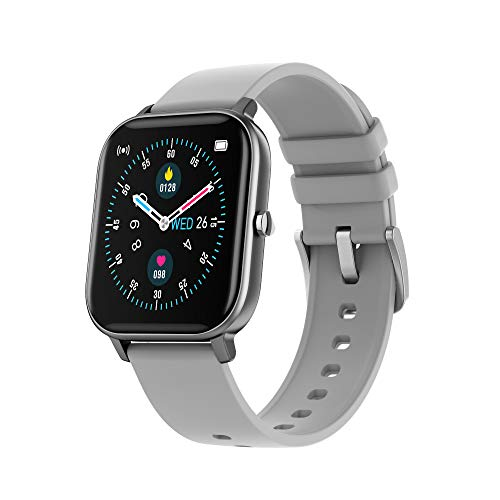 LC.IMEEKE Smartwatch für Damen Herren, 1,4 Zoll Farbbildschirm Fitnessuhr Fitness Tracker Armband Uhr mit Pulsmesser Aktivitätstracker Pulsuhr Schrittzähler, IP67 Smart Watch Armbanduhr Sportuhr