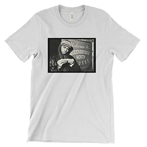 NAS Illmatic T Shirt - One Love It was Written NAS is Like The World is Yours
