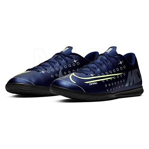 Nike Vapor 13 Club MDS IC, Botas de fútbol Unisex Adulto, Multicolor (Blue Void/Barely Volt/White/Black 401), 40.5 EU