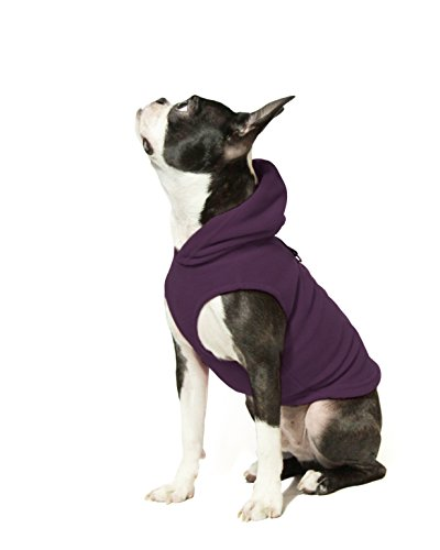 Gooby Every Day Fleece Cold Weather Dog Vest with Hoodie for Small...