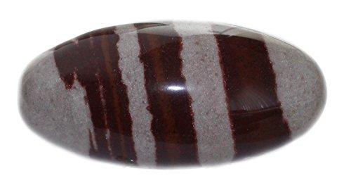 budawi-Handschmeichler Shiva Lingam Stein poliert Größe L, Shivalingam Edelstein