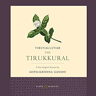 The Tirukkural                   Written by:                                                                                                                                 Tiruvalluvar                               Narrated by:                                                                                                                                 Neil Shah                      Length: 5 hrs and 53 mins     Not rated yet     Overall 0.0