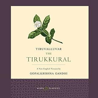 The Tirukkural cover art