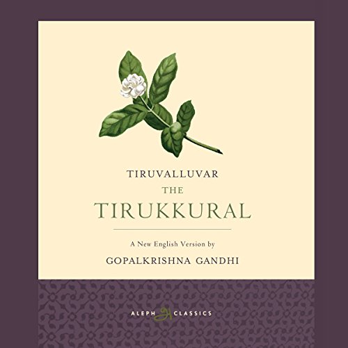 The Tirukkural audiobook cover art