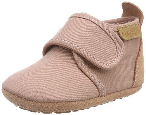Bisgaard Baby Mädchen Home Shoe-Cotton Hausschuhe, Pink (Nude 94), 22 EU
