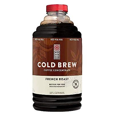 Kohana Cold Brew Coffee Concentrate, French Roast, 32 oz