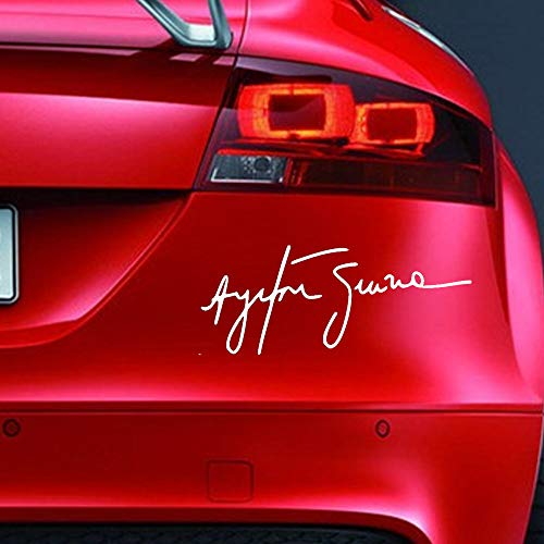 AYRTON SENNA - Adhesivo de vinilo para ventana de coche, parachoques de...