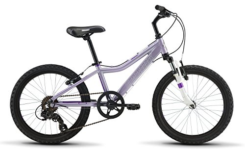 Diamondback Bicycles Lustre 20 Youth Girls 20' Wheel Mountain Bike, Purple
