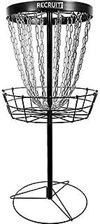Dynamic Discs Recruit Lite Disc Golf Target | Frisbee Golf Basket | 24 Chain Portable Disc Golf Basket | Easy Assembly & L...