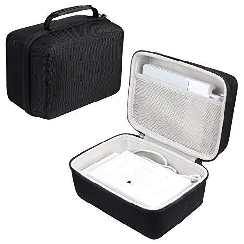 Khanka Hart Tasche Schutzhülle für Victure Photo Printer Portable Fotodrucker Sofortbilddrucker.Passt für 4x6 Fotopapier Etui Case.(nur Tasche)