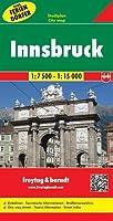 Innsbruck Map, Including Holiday Villages 1:7 500 - 1:15 000