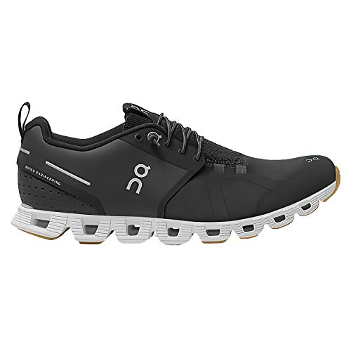 ON Running Womens Cloud Terry Textile Black/White Trainers 10 US