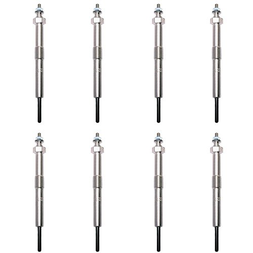 Wellman Glow Plugs Fast Start Glowplugs Set of 8 compatible with 06-11...