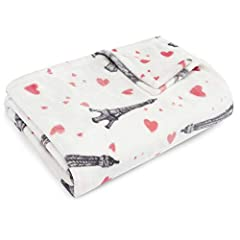 "Features signature Betsey Johnson prints Super soft plush fleece construction Machine washable Includes: One throw (70""L x 50""W) Perfect giftable item"