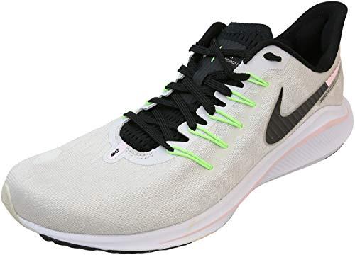 Nike Womens Air Zoom Vomero 14 Mesh Distance Running Shoes Gray 12 Medium (B,M)