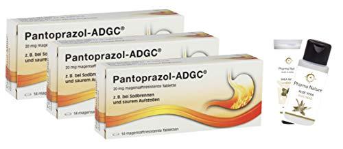 Pantoprazol ADGC 3 x 14 Tabletten Sparset inkl. einer pflegenden Handcreme ODER Duschbad von Pharma Nature