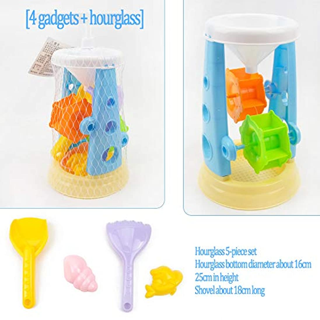 思想予見する化石子供のビーチおもちゃ砂時計掘りショベル夏の屋外スイミング赤ちゃんのお風呂のおもちゃのバギー、カーフェリーの砂時計Playsets