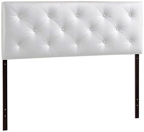 Baxton Studio Bedford Queen Sized Headboard, White