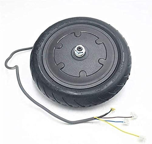 Neumáticos de Scooter eléctrico Neumático Trasero de Scooter eléctrico con Cubo de Rueda Juego de Frenos de Disco Neumático Trasero de Scooter para M365 Repuestos de Scooter eléctrico Neumáticos sól