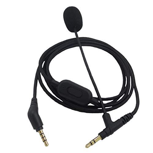 GLASSNOBLE Cable Adaptador, Cable para Auriculares, línea de Cable de Audio para...