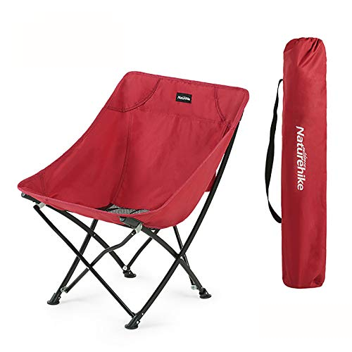 WLDQ Camping Backpacking Chair Portable Lightweight Folding Camp for Camping, Backpacking, Hiking, Beach, Picnic, with Carry Bag