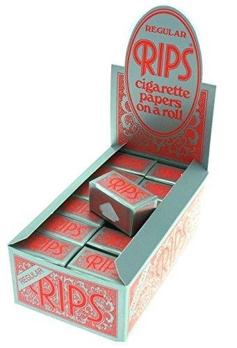 Rips Flavored Rolls 4 M Drehpapier Verschiedene Aroma Zigarettenpapier Rolle