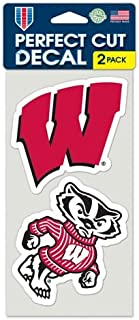 wisconsin badger stickers
