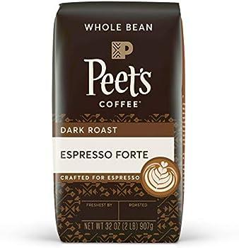 Peet's Coffee Espresso Forte Dark Roast Whole Bean,32 Oz