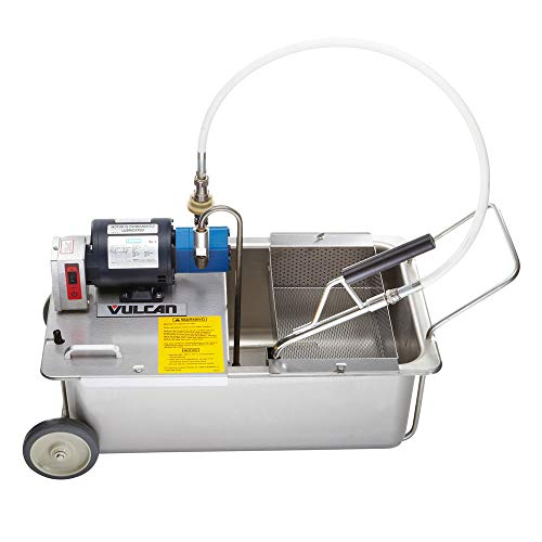 Great Price! Vulcan MF-1 Portable Fryer Filtration, 110 Lb. Oil Capacity, 120/60/1