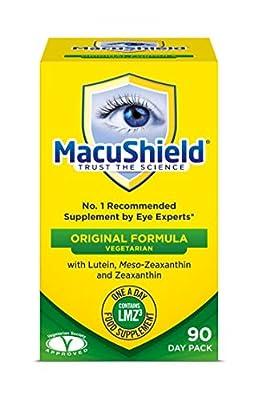 Macushield Eyecare Supplement Capsules - Pack of 90 Vegetarian Capsules