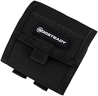 BOOSTEADY Tactical Compact Roll-Up Pouch, Military Molle Magazine Dump Drop Pouch Bag
