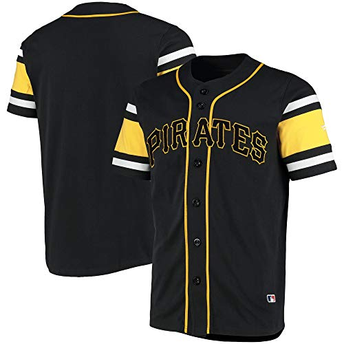 Fanatics Pittsburgh Pirates MLB Cotton Supporters Jersey - S