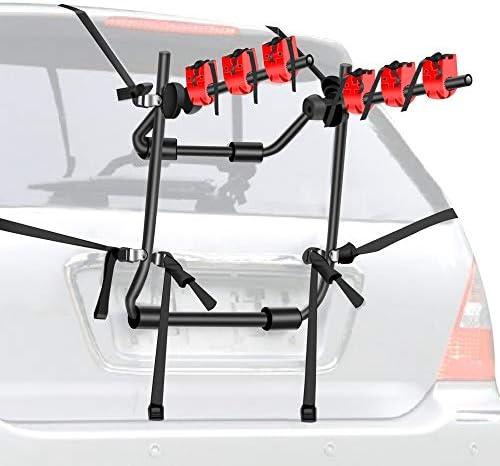 Walmann Bike Car Racks 3 Bike Carrier for Car Bicycle Rack Fits Most Cars Sedans Hatchbacks product image
