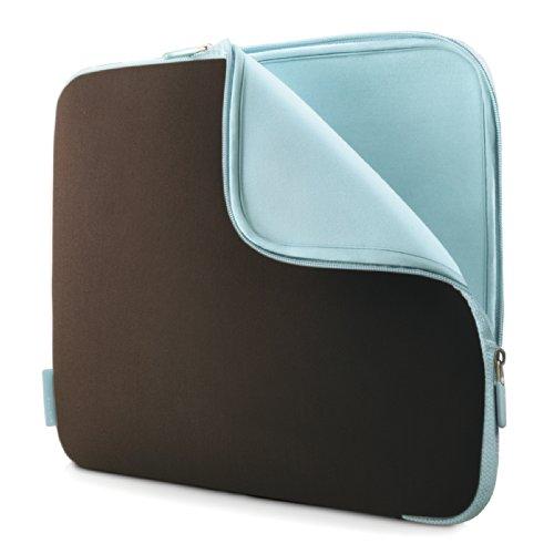 Belkin Neopren-Schutzhülle (für Laptops bis zu 39,6 cm (15,6 Zoll) schokolade / turmalin
