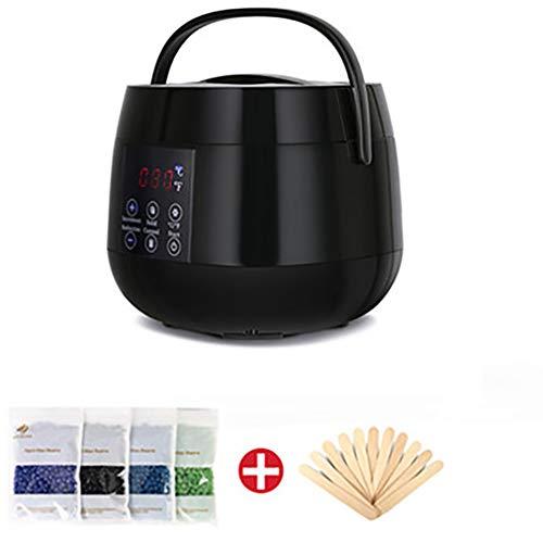 JCJ Outil D'éPilation, Smart Professional Warmer Wax Heater Spa Mains Pieds éPilateur Soins De La Peau DéPilatoire Kit De Machine à Cire De Paraffine