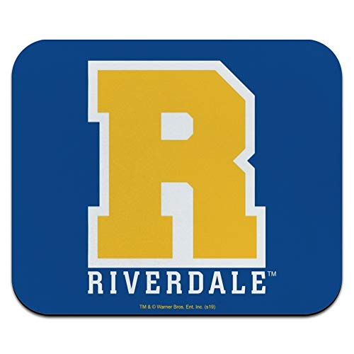 Riverdale Varsity Letter Low Profile Thin Mouse Pad Mousepad