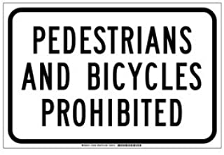 Best pedestrian prohibited sign Reviews