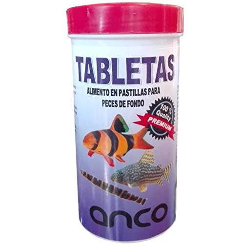 ANCO Alimento en Pastillas para Peces de Fondo,Tabletas 250 ml