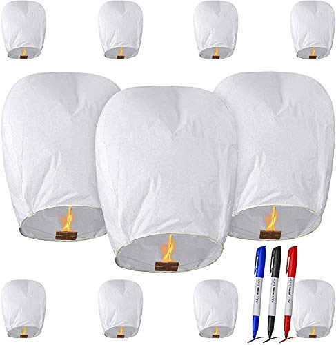 Paper Lanterns with 3 Pens