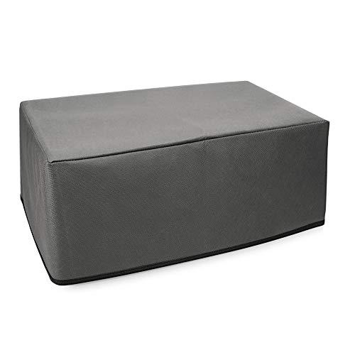 kwmobile Hülle kompatibel mit HP OfficeJet Pro 8012/8022 - Drucker Staubschutzhülle Schutzhaube Schutzhülle - Dunkelgrau